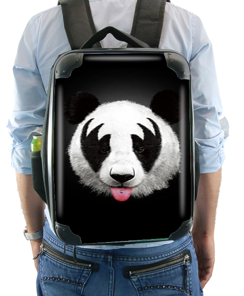Kiss of a Panda for Backpack
