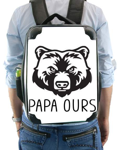Papa Ours for Backpack