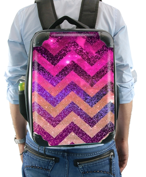 PARTY CHEVRON GALAXY  for Backpack