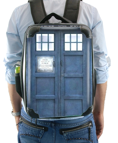 Police Box for Backpack