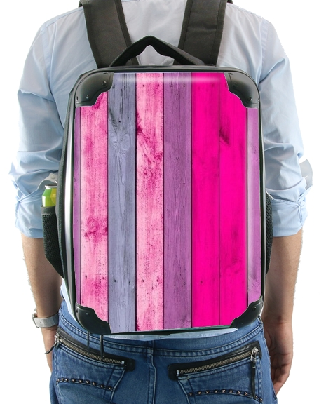 Pink wood for Backpack