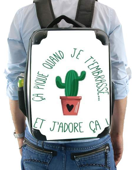 Pique comme un cactus for Backpack