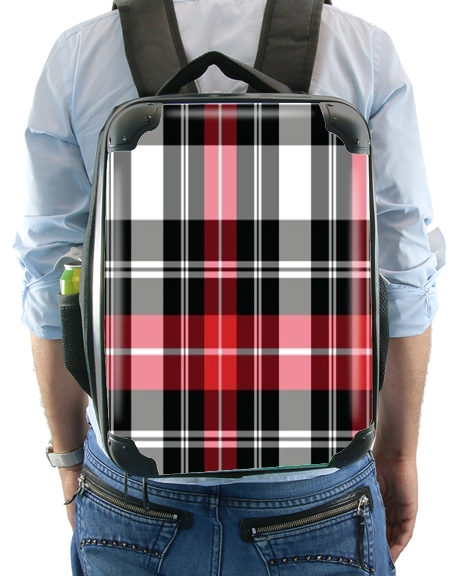 Red Plaid for Backpack