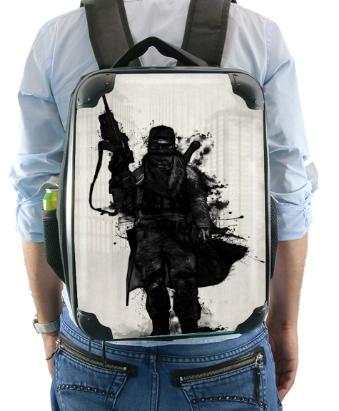 Post Apocalyptic Warrior for Backpack