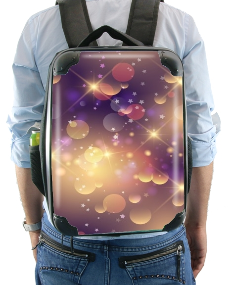 Purple Sparkles for Backpack