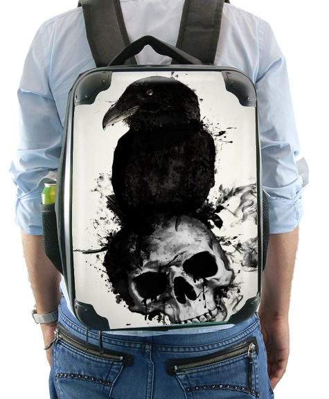 Raven and Skull for Backpack