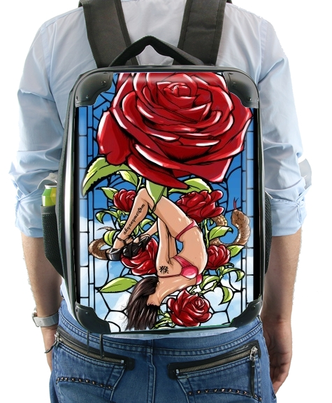 Red Roses for Backpack