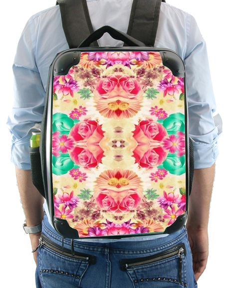Retro Flowers for Backpack