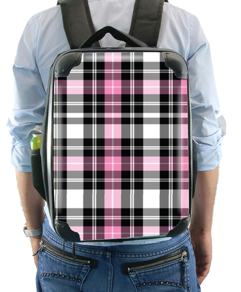 Pink Plaid for Backpack