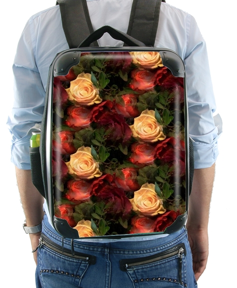 Vintage Rose Garden for Backpack