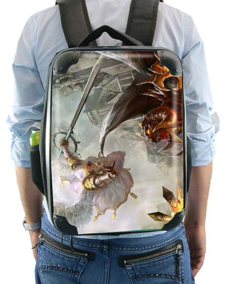 Saint Michael Archange versus Demon for Backpack