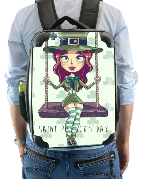 Saint Patrick's Girl for Backpack