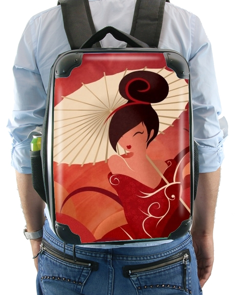 Sakura Asian Geisha for Backpack