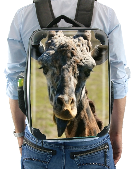 Sassy Pants Giraffe for Backpack