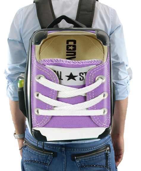 All Star Basket shoes purple for Backpack