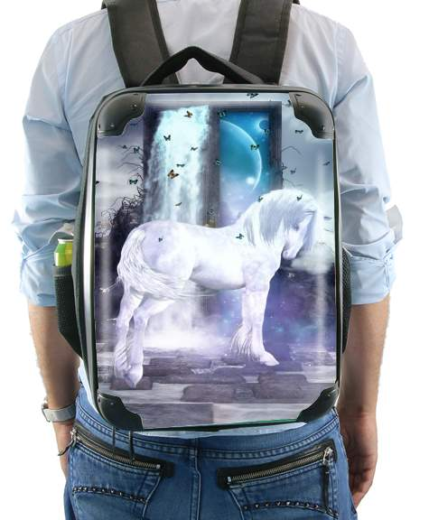 Silver Unicorn for Backpack