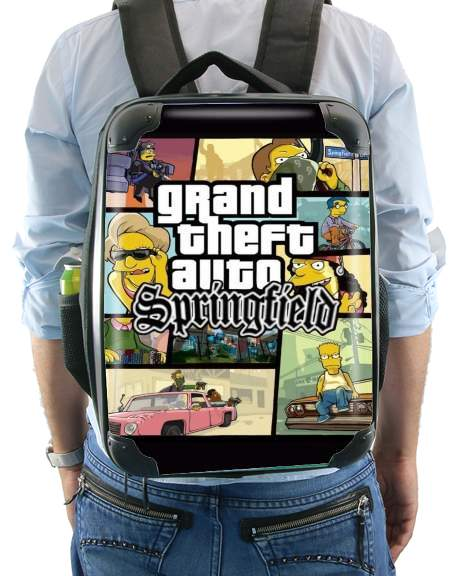 Simpsons Springfield Feat GTA for Backpack