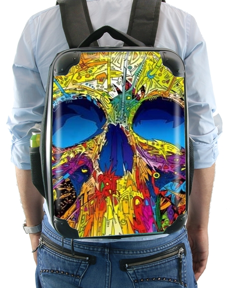 Color Skull Flashy for Backpack