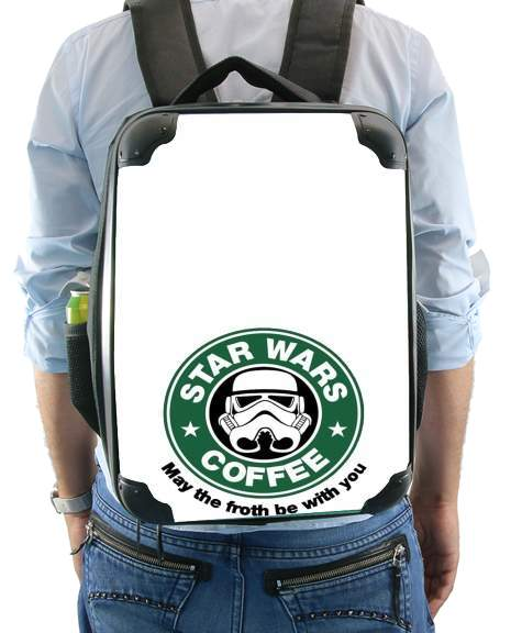 Stormtrooper Coffee inspired by StarWars for Backpack