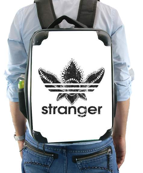 Stranger Things Demogorgon Monster JOKE Adidas Parodie Logo Serie TV for Backpack