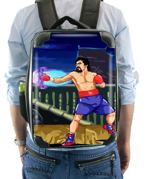 Street Pacman Fighter Pacquiao for Backpack