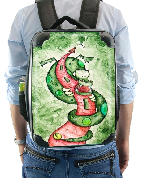 The Dragon and The Tower for Backpack