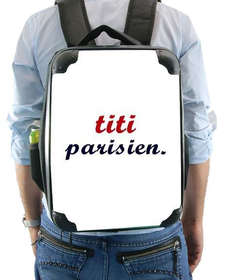 titi parisien for Backpack