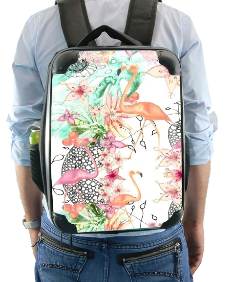 TROPICAL FFLAMINGO for Backpack