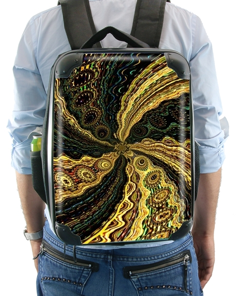 Twirl and Twist black and gold for Backpack