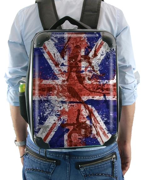 Union Jack Painting for Backpack
