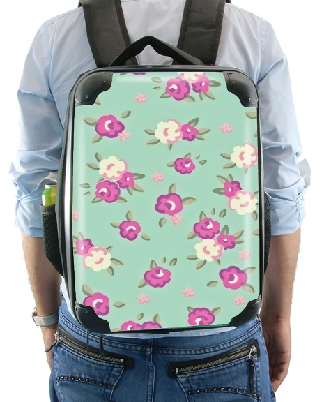 Vintage Roses Pattern for Backpack