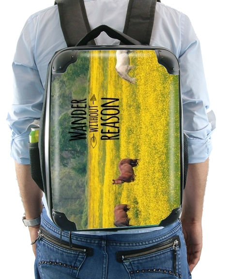 Wander without Reason for Backpack
