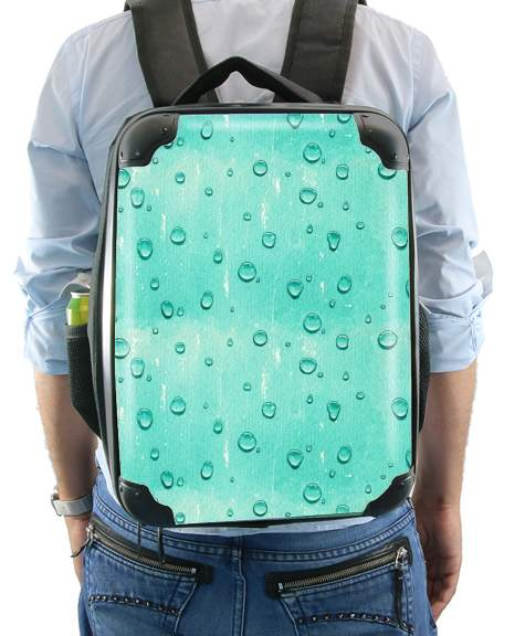 Water Drops Pattern for Backpack