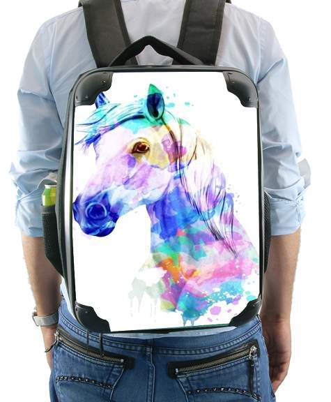 watercolor horse for Backpack