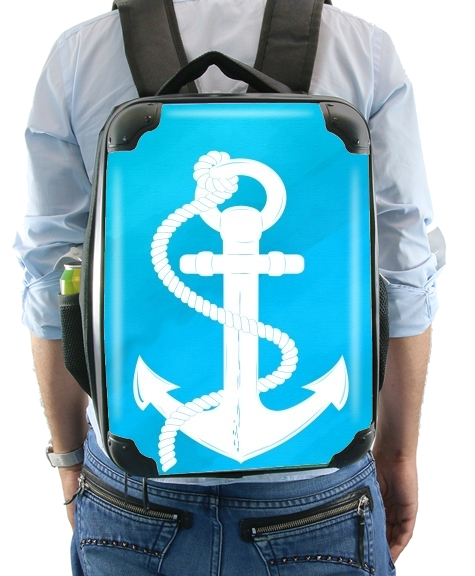 White Anchor for Backpack