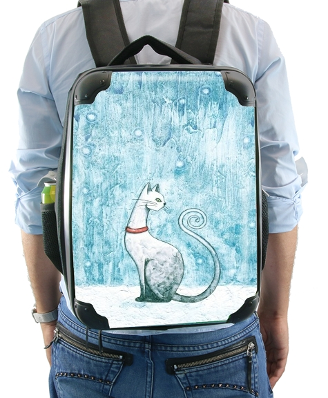 Winter Cat for Backpack