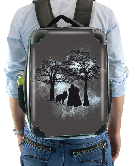 Wolf Snow for Backpack