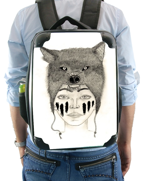 Wolf warrior for Backpack