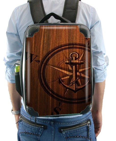 Wooden Anchor for Backpack