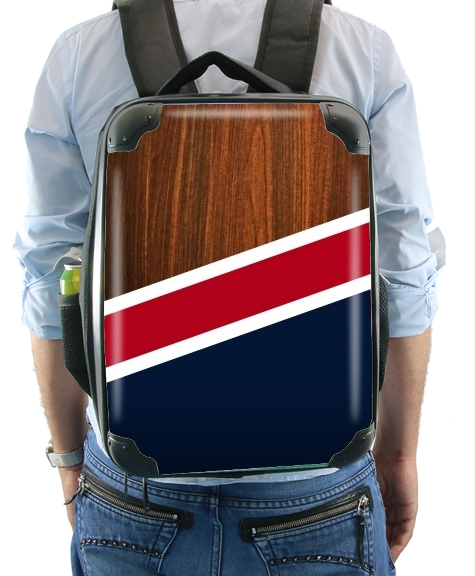 Wooden New England for Backpack