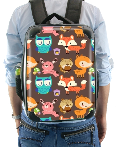 Woodland friends for Backpack