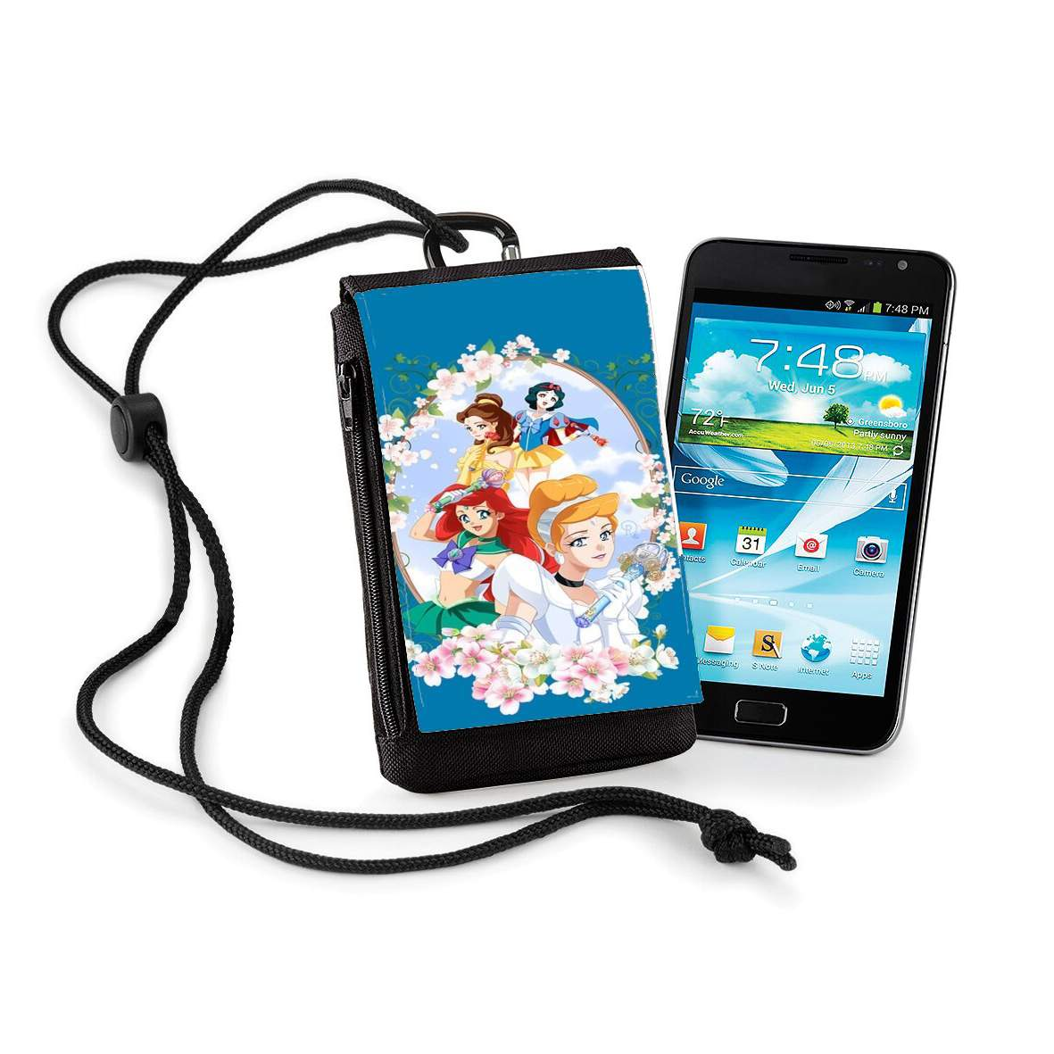 Disney Princess Feat Sailor Moon Alcatel One Touch Idol S