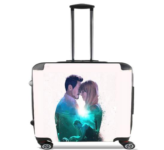 "A dream of you for Wheeled bag cabin luggage suitcase trolley 17"" laptop"
