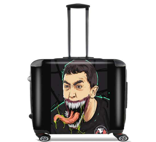 "Agustin Marchesin for Wheeled bag cabin luggage suitcase trolley 17"" laptop"