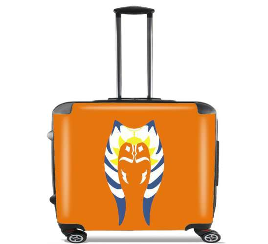 "Ahsoka for Wheeled bag cabin luggage suitcase trolley 17"" laptop"