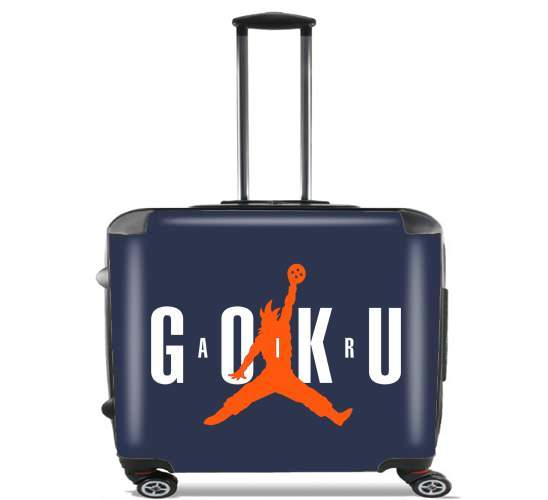 "Air Goku Parodie Air jordan for Wheeled bag cabin luggage suitcase trolley 17"" laptop"