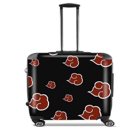 "Akatsuki Cloud REd for Wheeled bag cabin luggage suitcase trolley 17"" laptop"