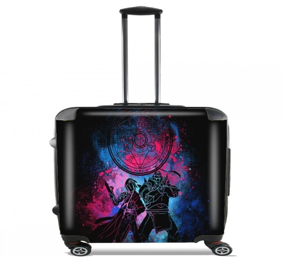 "Alchemist Art for Wheeled bag cabin luggage suitcase trolley 17"" laptop"