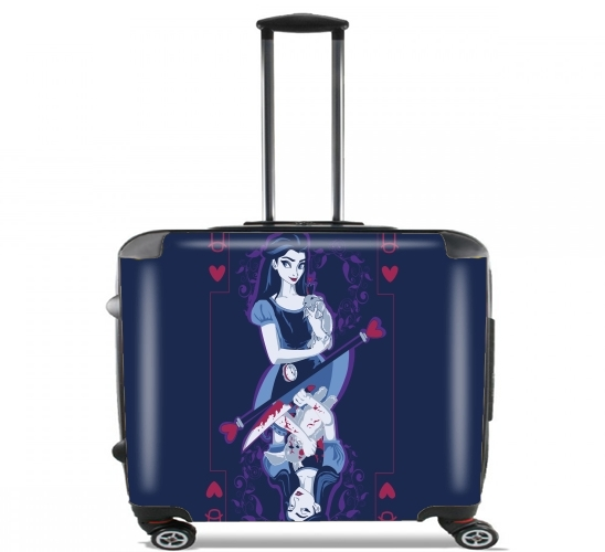 "Alice Card for Wheeled bag cabin luggage suitcase trolley 17"" laptop"