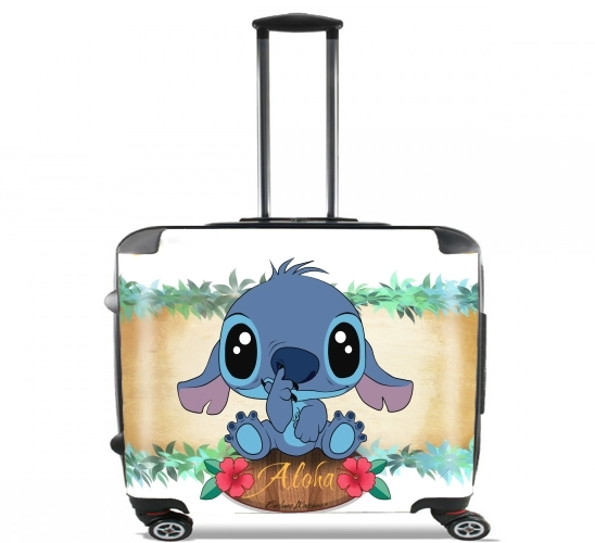 "Aloha for Wheeled bag cabin luggage suitcase trolley 17"" laptop"